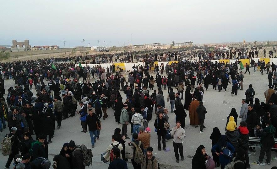 ورود یک میلیون زائر ایرانی به عراق برای زیارت روز عرفه در کربلا