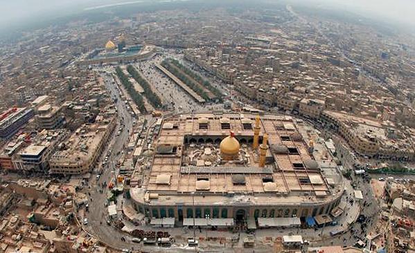 نقشههای با کیفیت کربلا، نجف و راههای عراق