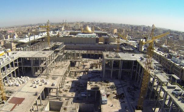 بهره برداری از فاز نخست صحن حضرت زهرا (س) در اوایل سال 95