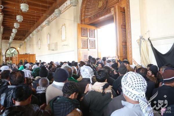 استقبال مسجد کوفه از زائرین اربعین