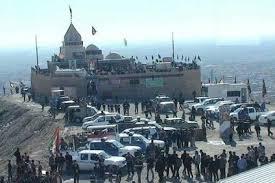 انفجار زیارتگاه حضرت زینب (س) در موصل