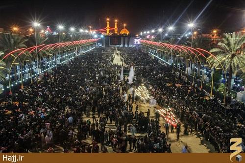 حرم حضرت عباس در کربلای معلی/تصاویر