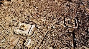تصاویر هوایی از حرمین مطهر در کربلا