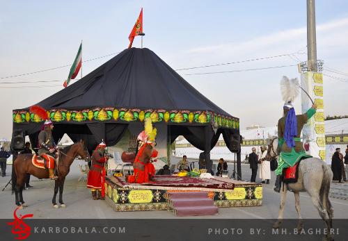 حرکت کاروان عاشورایی لالهها در پایتخت