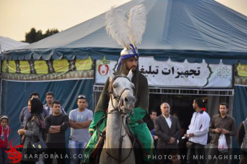 تعزیهخوانی در میدان امام حسین علیه السلام