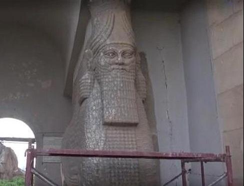 فاجعه فرهنگی داعش در موزه موصل