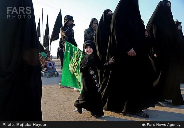 نوگلان حسینی از نجف تا کربلا / گالری عکس