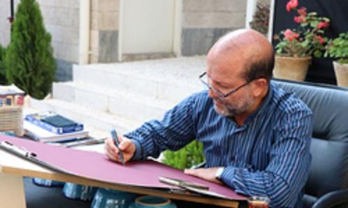 نگارگر و طراح ضرایح عتبات عالیات دارفانی را وداع گفت