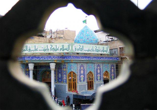 ساخت صحن حضرت زینب در حرم سیدالشهدا