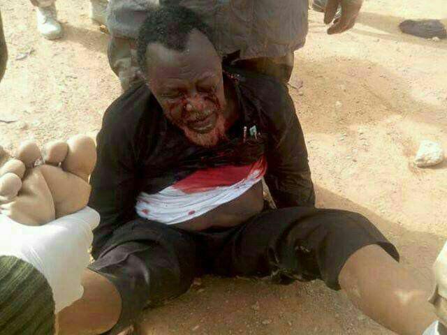 انتشار عکسی منسوب به رهبر شیعیان نیجریه به هنگام بازداشت