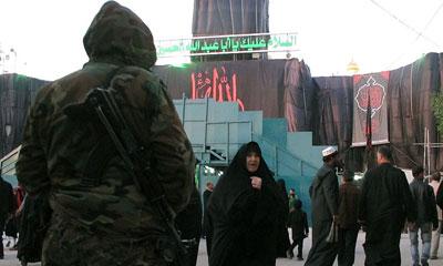 اتخاذ تدابیر شدید امنیتی در کربلا