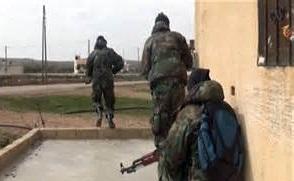 آموزش مسیحیان عراقی برای جنگ با داعش