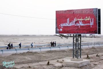 گزارش تصویری از زائران پیاده روی اربعین حسینی در مرز شلمچه