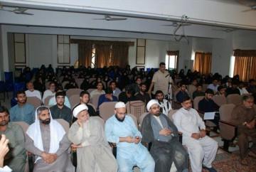 نشست علمی «فداکاری حضرت زهرا (س) برای حفظ اسلام در نگاه اهل سنت» در کراچی برگزار شد + تصاویر