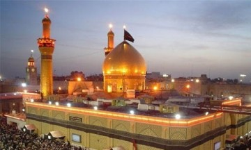 محدودهای مجاز برای خواندن نماز کامل در حرم حسینی