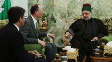 سفیر آلمان در عراق به زیارت حرم مطهر امام حسین (ع) رفت