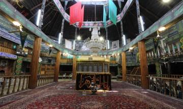 تکیه نیاوران به عنوان قدیمیترین تکیه تهران همچنان فعال است