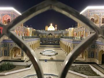 پیشرفت پروژه صحن حضرت زهرا (س) در یک نگاه / گزارش تصویری