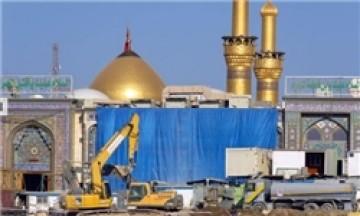 افزایش 14 هکتاری فضای مسقف حرم امام حسین (ع) + تصاویر