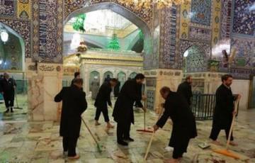 برنامه اعتاب مقدسه ایران و عراق برای مقابله با شیوع کرونا