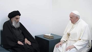 دیدار تاریخی رهبران جهان اسلام و مسیحیت در نجف اشرف