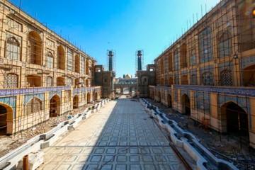 کتابخانه صحن حضرت زهرا (س)؛ یکی از بزرگترین پایگاههای علوم اسلامی / عکس