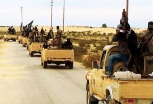 رژه نظامی «داعش» در شمال مصر