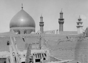 نجف و حرم امام علی علیهالسلام در 80 سال پیش/ عکس