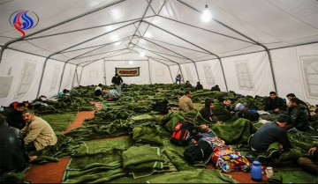 برای اقامت در چادرهای اربعین پول ندهید