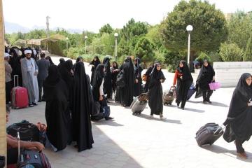 از هفته آینده دانشجویان دختر به عتبات عالیات اعزام می شوند