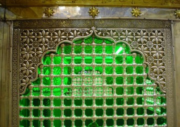 نمای داخلی ضریح حضرت سیدالشهدا (ع)
