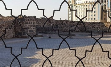 نوحه بر عزای سیدالشهدا (ع) در قبرستان بقیع