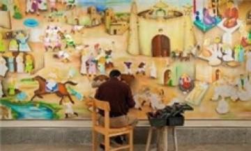 حراج نقاشی بزرگ برای کمک به ساخت فیلم «ثارالله»