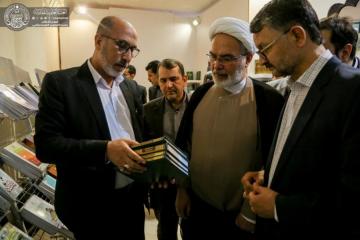 200 عنوان کتاب از انتشارات آستان علوی در نمایشگاه تهران