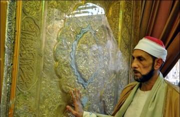 حضور علمای مصر در حرم امام حسین (ع)