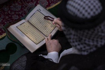حال و هوای زائرین حرم ارباب در ماه مبارک رمضان