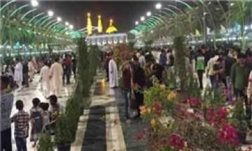 81 کاروان ایرانی وارد کربلا شدند