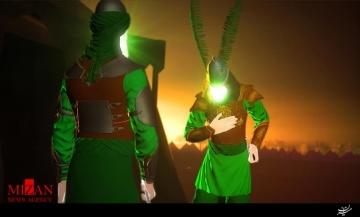 رونمایی از انیمیشن «ناسور» در اختتامیه اجلاس پیرغلامان در بندرعباس