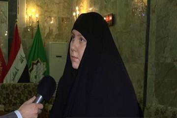 دختر آمریکایی که به عشق امام حسین (ع) راهی کربلا شد