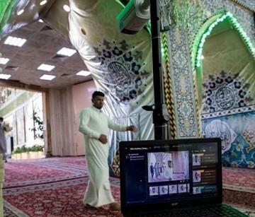 کنترل سلامت زائران آستان حضرت عباس (ع) با دستگاههای حرارتی