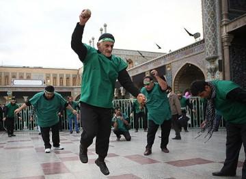 کربزنی مازندران؛ ناله جمادات بر مصیبت شهید دشت کربلا