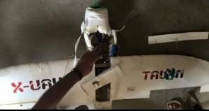 سرنگونی یک پهپاد داعش
