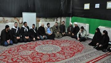تشرف هیئتی از مؤسسه اسلامی کشور اوکراین به حرم مطهر حسینی
