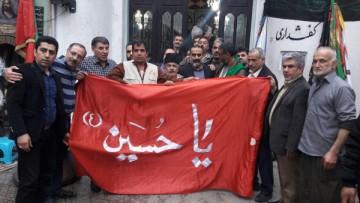 کاروان پیاده زائران رضوی از کربلا به مازندران رسید