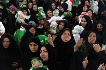 دوخت 15 هزار لباس متحد الشکل همایش شیرخوارگان حسینی در زنجان