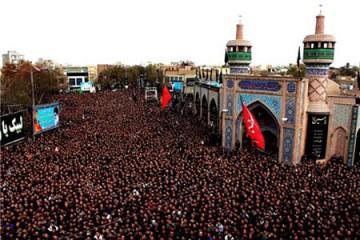 تجمع عزاداران تاسوعا و عاشورای حسینی با رعایت فاصلهگذاری