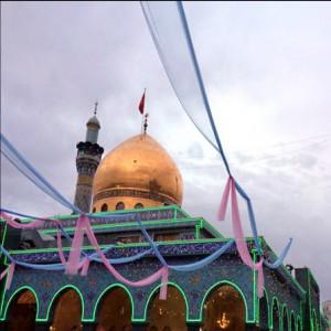 جشن میلاد در حرم حضرت زینب (س) /گزارش تصویری