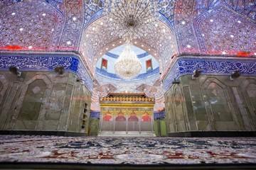 بازگشایی حرم حضرت عباس(ع) بعد از غبارروبی/ گزارش تصویری