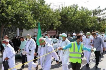 بازگشت کاروان مشهد-کربلا؛ طولانیترین پیادهروی اربعین حسینی