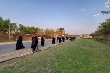 برگزاری نخستین مراسم پیادهروی اربعین در زامبیا / عکس